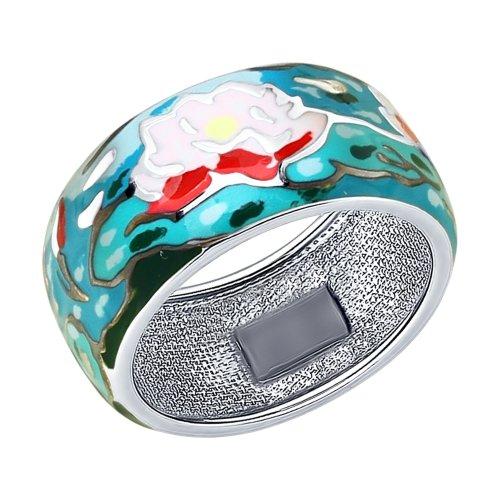 Серебряное кольцо Эмаль арт. 94012214 94012214
