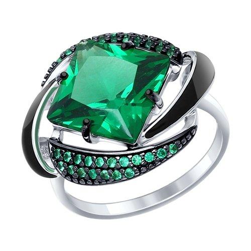 Серебряное кольцо Прочие и Фианит арт. 92011302 92011302