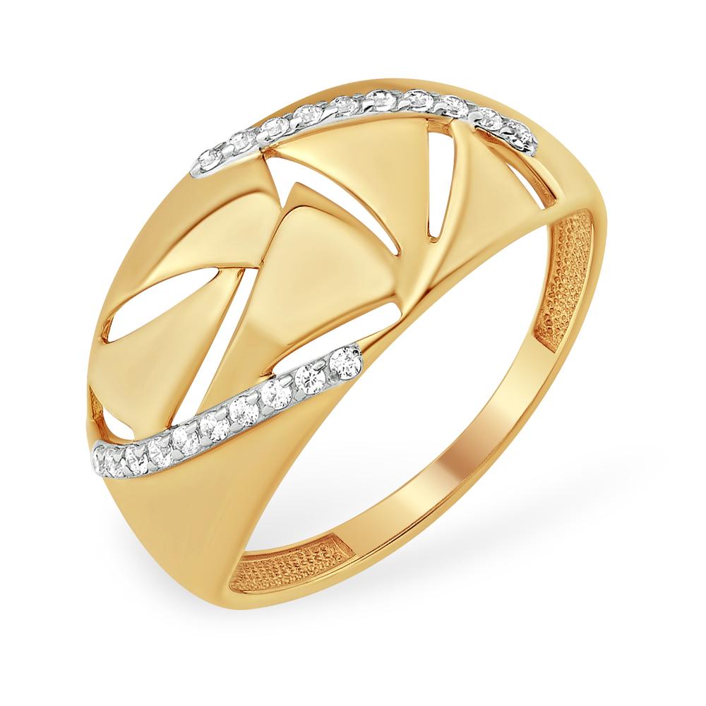 Золотое кольцо Фианит арт. к13210052 к13210052
