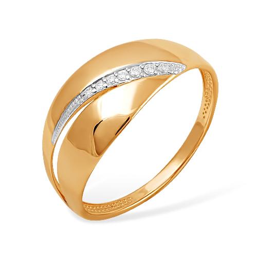 Золотое кольцо Фианит арт. к1325140 к1325140