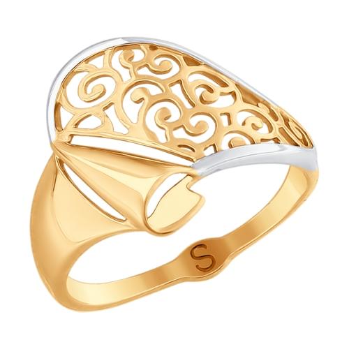 Золотое кольцо Без вставки арт. 017682 017682
