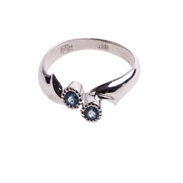 Серебряное кольцо Хризолит арт. 4к-5278-04 4к-5278-04