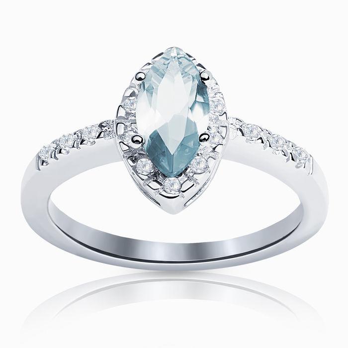 Серебряное кольцо Фианит арт. 00589 00589