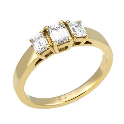 Кольцо из лимонного золота Бриллиант арт. КЛ-322Ж КЛ-322Ж