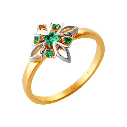 Золотое кольцо Изумруд арт. 64000163 64000163
