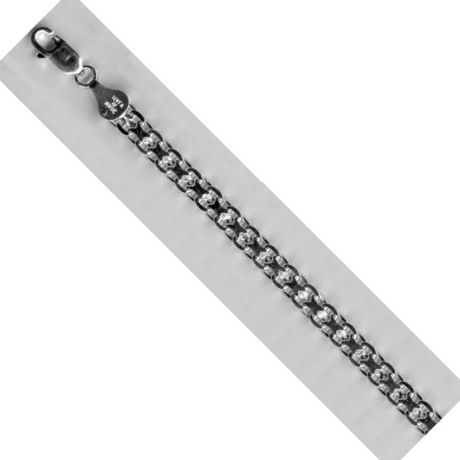 Браслет-цепь из серебра арт. бск 40 бск 40