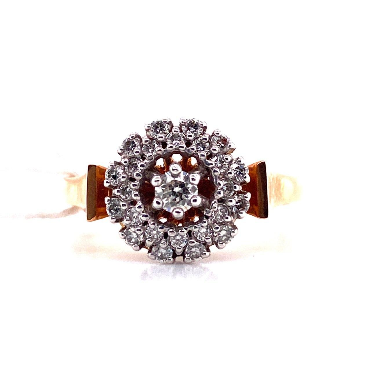 Золотое кольцо Бриллиант арт. е6384 е6384