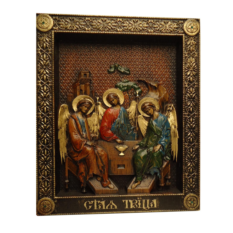 Икона Святая Троица арт. Троица 1.23.19.5 Троица 1.23.19.5