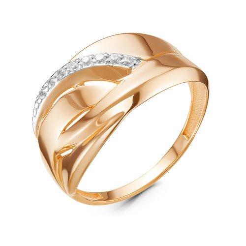 Золотое кольцо Фианит арт. 117095 117095