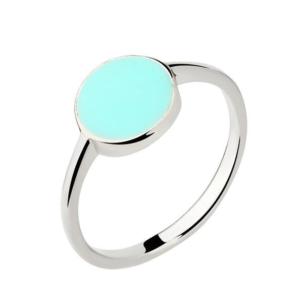 Серебряное кольцо Эмаль арт. 1004608 1004608