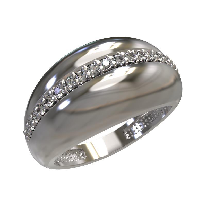 Серебряное кольцо Фианит арт. 1030531-01110 1030531-01110