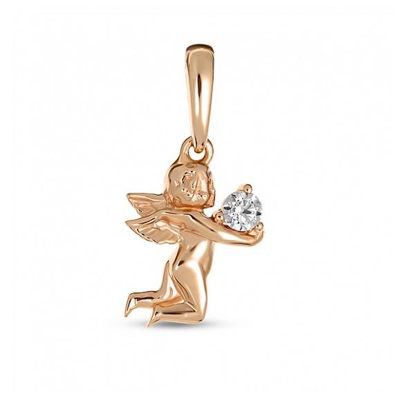Золотой подвес с кристаллом сваровски арт. p01-z-md-d-59619-z p01-z-md-d-59619-z