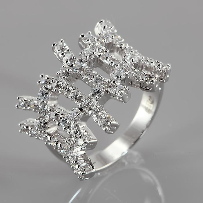 Серебряное кольцо Без вставки арт. r904253 r904253