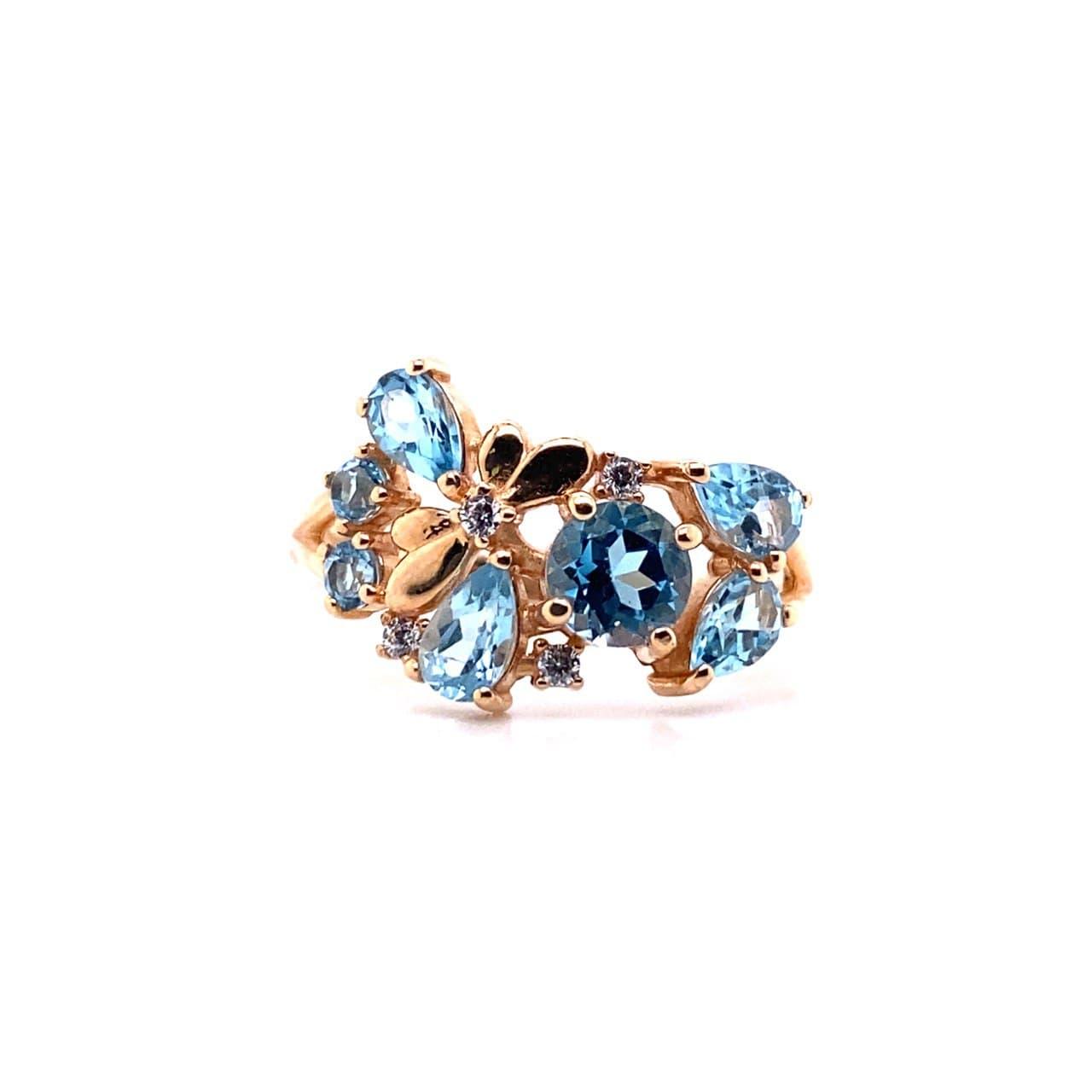Золотое кольцо 11612Тт