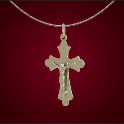 Крест из лимонного золота арт. 0341588 0341588