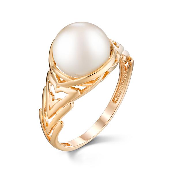 Золотое кольцо Жемчуг арт. 31211A1 31211A1