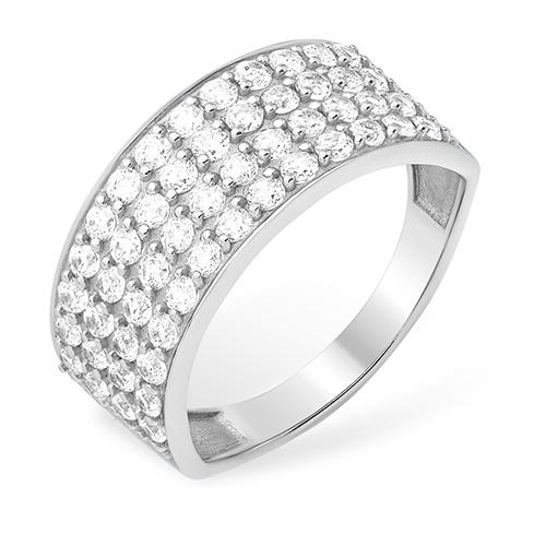 Серебряное кольцо Фианит арт. 1010011901-1 1010011901-1