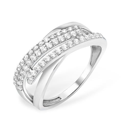 Серебряное кольцо Фианит арт. 1010011938-1 1010011938-1