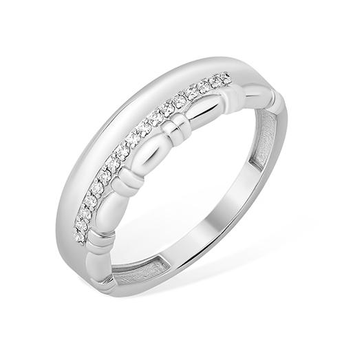 Серебряное кольцо Фианит арт. 1010013397-501 1010013397-501