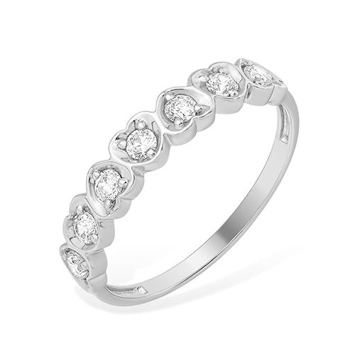 Серебряное кольцо Фианит арт. 1010013414-1 1010013414-1