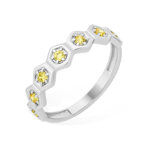 Серебряное кольцо Фианит арт. 1010015473-504 1010015473-504