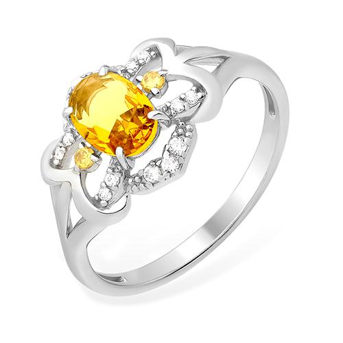 Серебряное кольцо Прочие и Фианит арт. 1015011422-4 1015011422-4