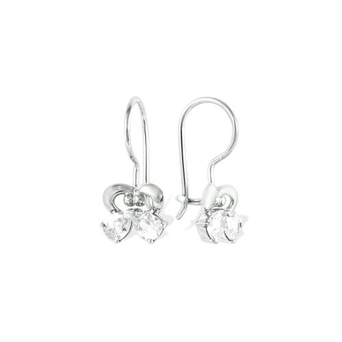 Детские серьги из серебра с фианитом арт. 1210011804-1 1210011804-1
