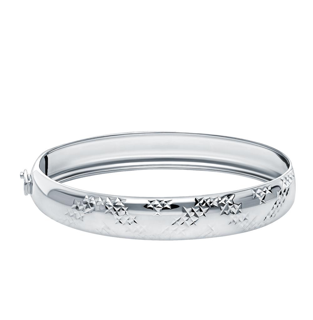 Жесткий браслет из серебра арт. 1400111248 1400111248