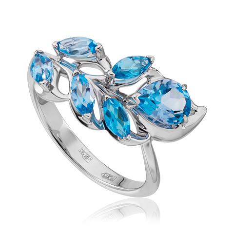 Золотое кольцо Топаз арт. 1-02977 1-02977