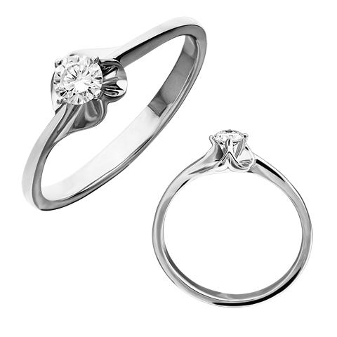 Золотое кольцо Изумруд арт. 1-02018 1-02018