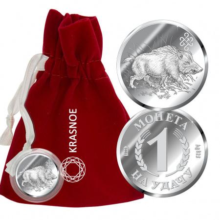 Серебряная монета арт. 9300409017 9300409017