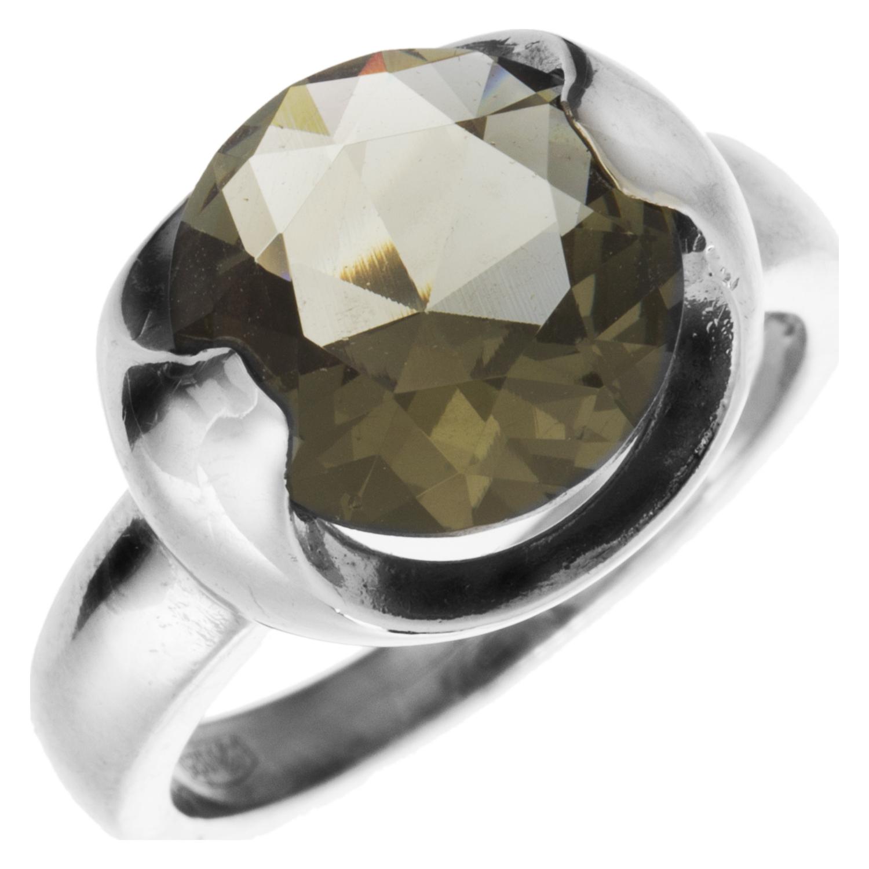 Серебряное кольцо Кварц арт. 4к-5026-04 4к-5026-04