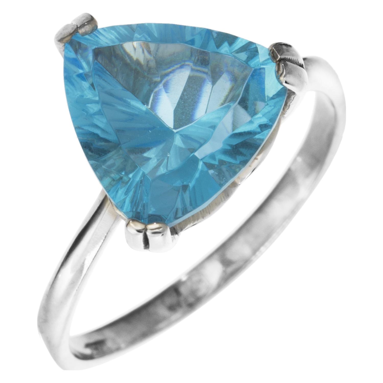 Серебряное кольцо Кварц арт. 4к-5046-04 4к-5046-04