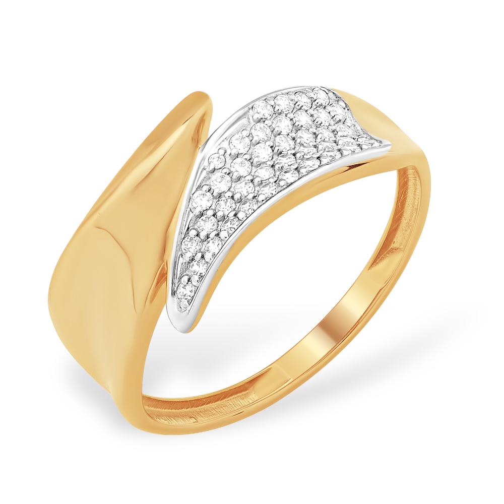 Золотое кольцо Фианит арт. к13210938 к13210938