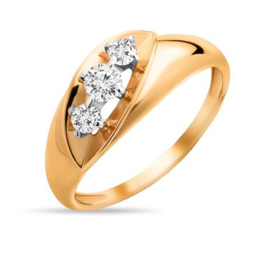 Золотое кольцо Фианит арт. 01-114853 01-114853