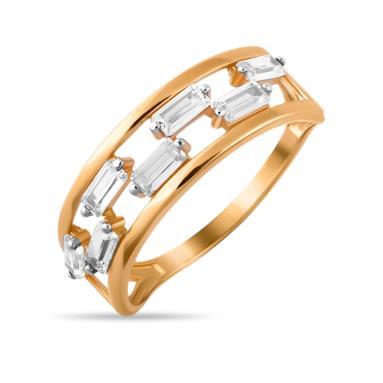 Золотое кольцо Фианит арт. 01-115383 01-115383