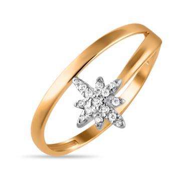 Золотое кольцо Фианит арт. 01-115448 01-115448