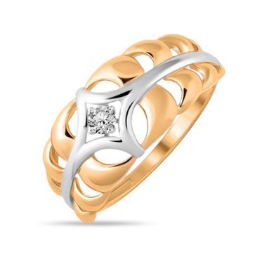 Золотое кольцо Фианит арт. 01-115498 01-115498