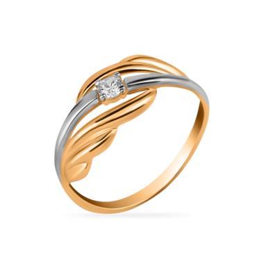 Золотое кольцо Фианит арт. 01-115500 01-115500