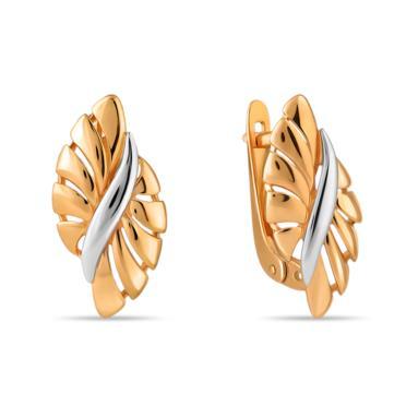 Золотые серьги арт. 01-205510 01-205510