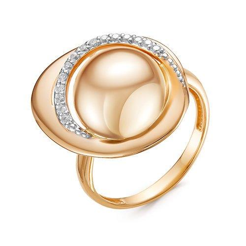 Золотое кольцо Фианит арт. 116885 116885