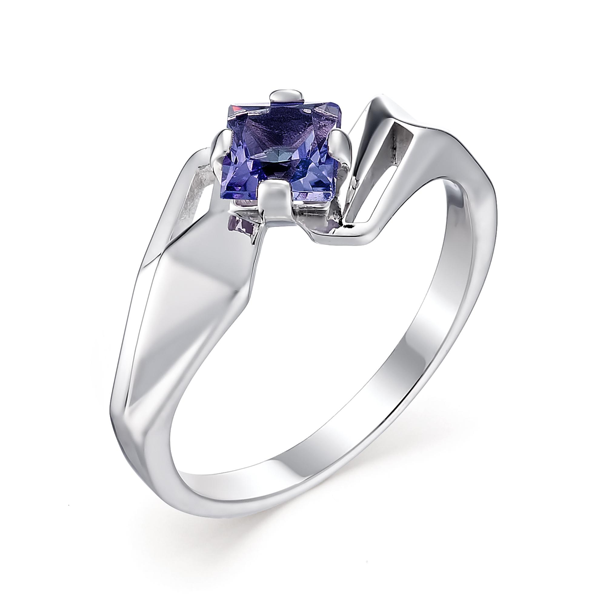 Серебряное кольцо Сапфир арт. 01-0577/0гтс-00 01-0577/0гтс-00