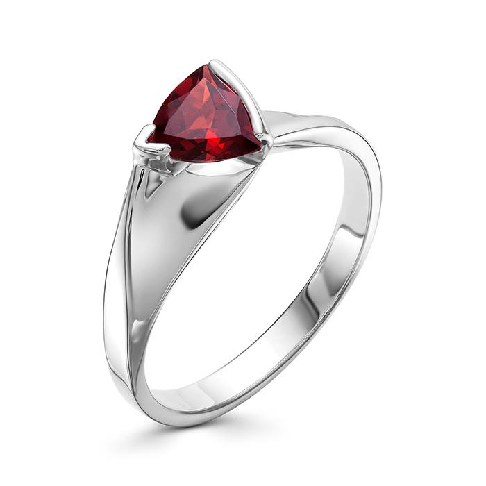 Серебряное кольцо Гранат арт. 01-0578/00гр-00 01-0578/00гр-00