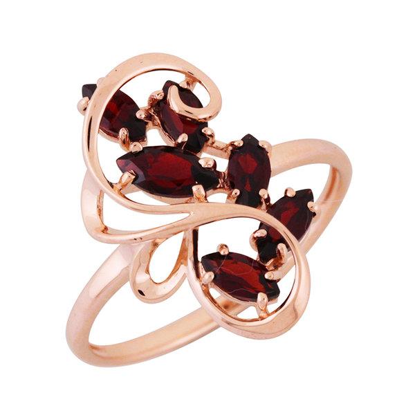 Золотое кольцо Аметист арт. 1360618 1360618
