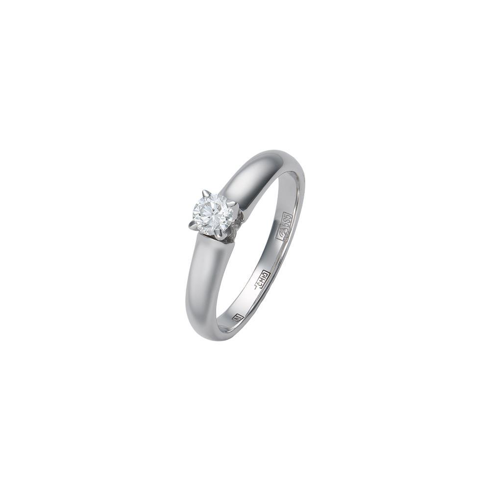 Кольцо из белого золота Бриллиант арт. 73230 73230