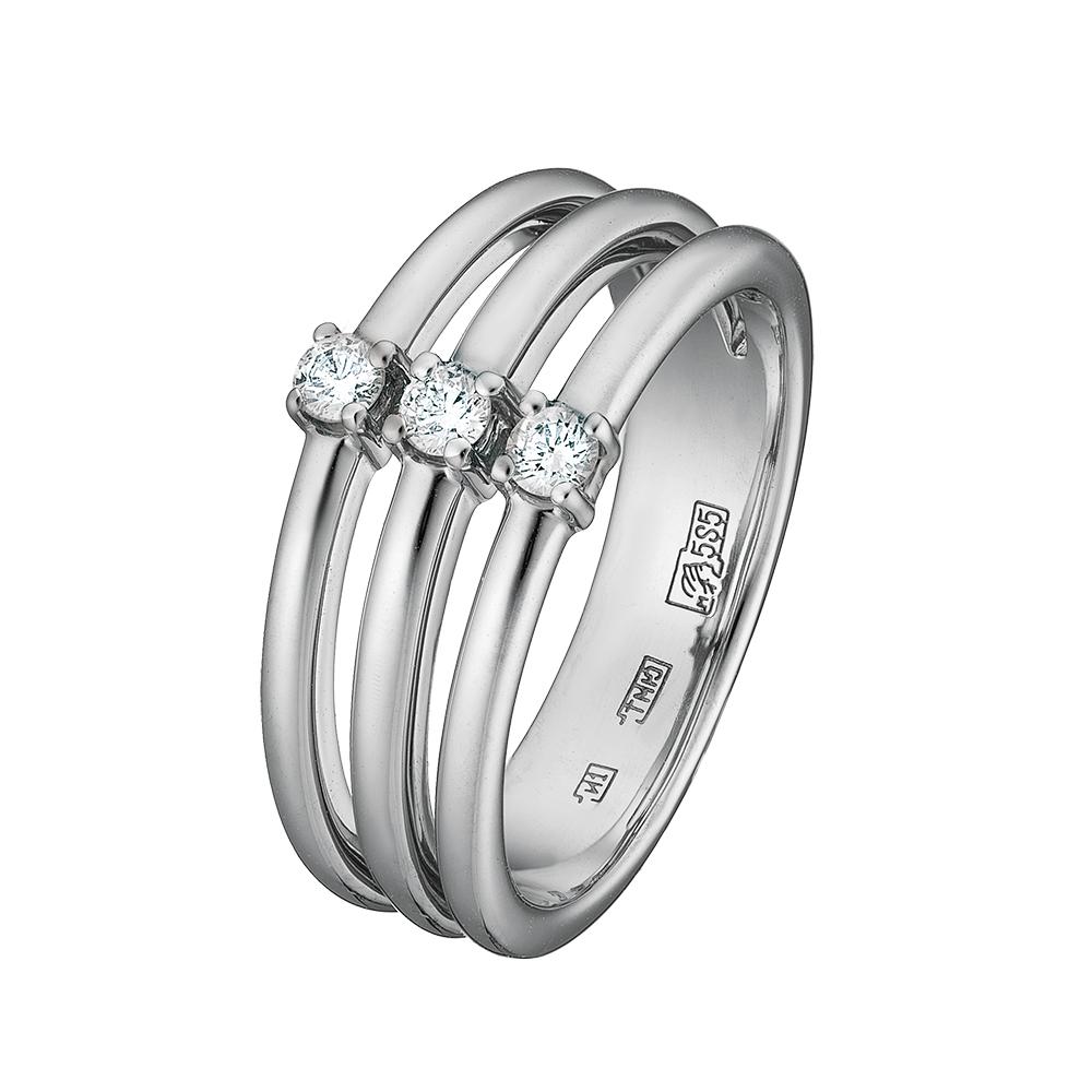 Кольцо из белого золота Бриллиант арт. 73769 73769