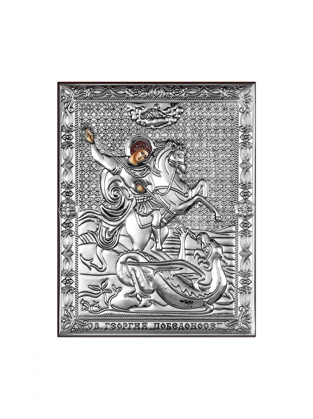 Икона с деревом Георгий Победоносец арт. СД1-ГП СД1-ГП