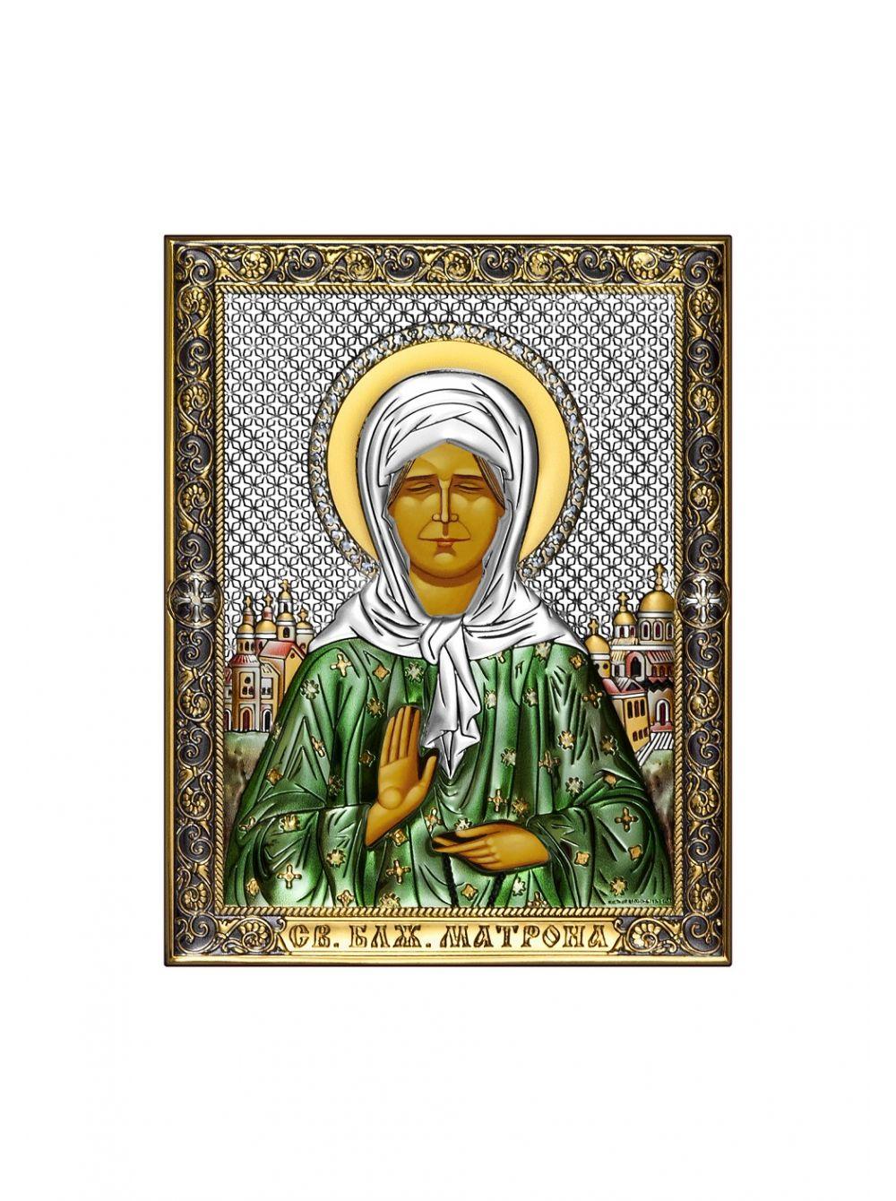 Икона с деревом Матрона Московская арт. ПЭД1-СМ ПЭД1-СМ