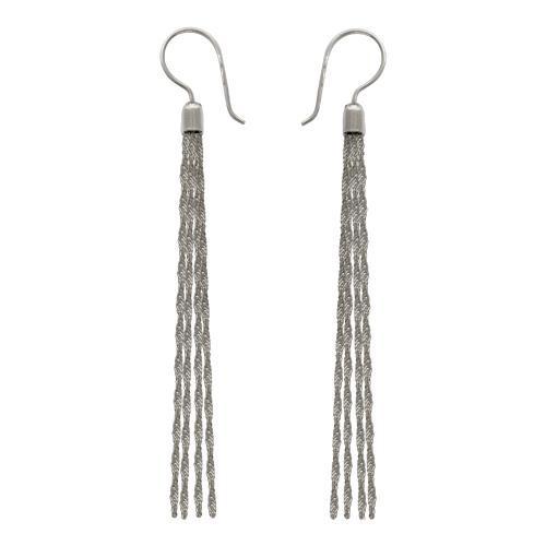 Серебряные серьги арт. 01с754450 01с754450