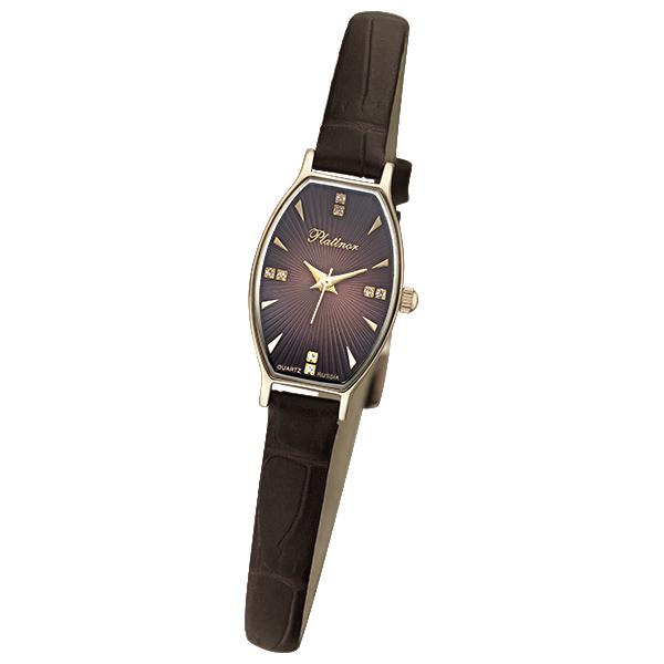 Женские часы из золота с серебром 925 пробы арт. 43430.703 43430.703